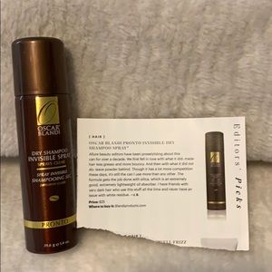 Other - Oscar Blandi Pronto Invisible Dry Shampoo Spray